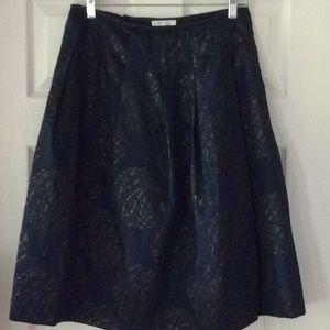 Vince A-line Pleated Skirt w/ Pockets, Size 8